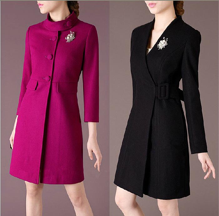 Winter Clothing Woolen Cloth Coat,noble Temperament Of Women's ...